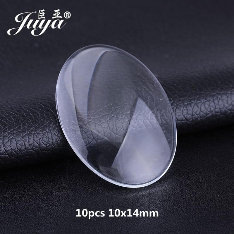 10pcs 10x14mm glass