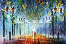 palette knife oil painting  modern oil painting canvas oil painting K353