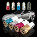 Universal 3.1A Car Charger 2 Port Mini Dual USB Car Charger Adapter for ipone5 5s 6 plus Samsung Galaxy S5 S6 HTC Mobile Phone
