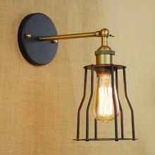 Loft Industrial Vintage Wall Lamp Lights For Home America Retro Edison Wall Sconce Arandela De Parede rh american country vintage wall lamp lights fixtures glass ball retro loft industrial wall sconces wandlamp arandela de parede