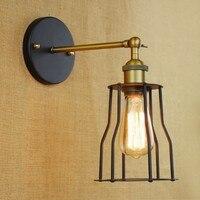 Loft Industrial lâmpada De Parede do Vintage luzes para casa américa Retro Edison Parede Arandela Arandela De Parede|wall lamp light|lights for homearandela de parede -
