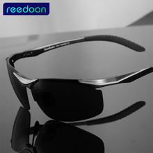 REEDOON Aluminum Magnesium Brand Designer Polarized Sunglasses Men Glasses Driving Glasses Summer 2017 Eyewear Accessories 2196