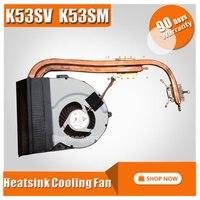 For ASUS K53 X53 K53S A53S X53S K53SV K53SM K53SJ K53SC Laptop CPU Cooling Fan Heatsink