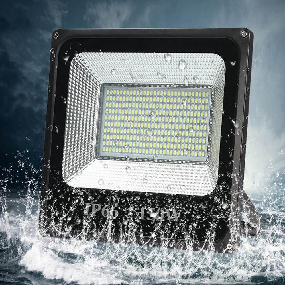 LED 홍수 빛 30W 50W 100W 150W 200W 300W 400W 500W 높은 전원 AC220V 방수 IP66 스포트 라이트 야외 정원 램프 조명