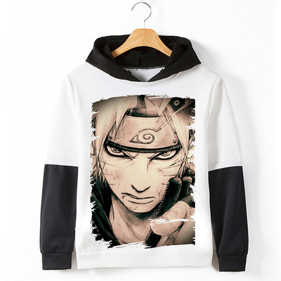 Hot anime Uzumaki Naruto hoodies men fitness hip-hop fleece tracksuits male harajuku swe ...