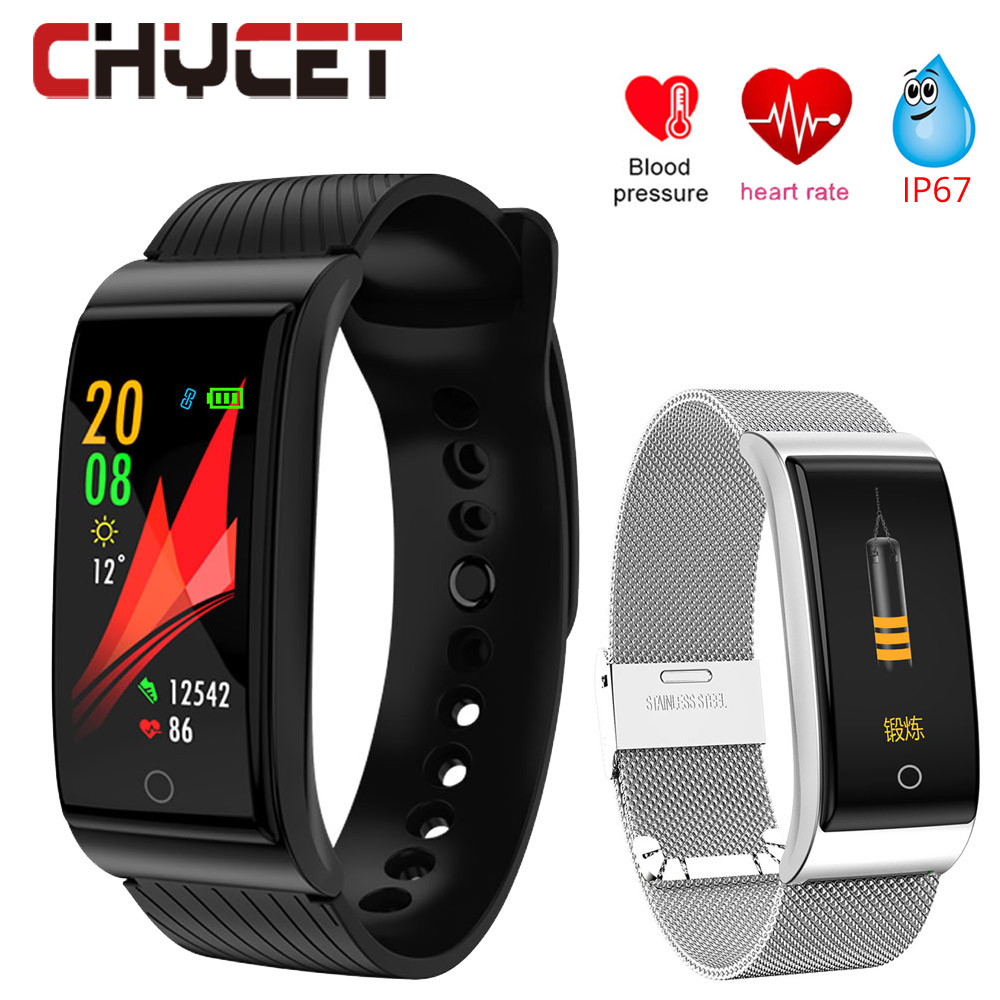Smart Watch Blood Pressure Smartwatch Waterproof GPS Fitness tracker Watch Heart Rate Monitor Smart Watches Men Women Bracelet