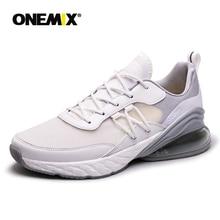 Chaussures de course rétro ONEMIX chaussures de Sport de plein air respirantes pour hommes baskets de Sport en noir garçon Jogging chaussure athlétique d'été