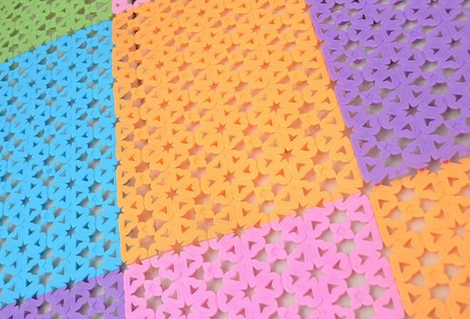 Neue kunststoff gummi rutschfeste dusche bad massage matte mosaik - Haushaltswaren - Foto 3