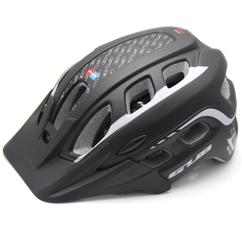 Thicken qualified MTB Road Bicycle helmet Cycling bike sports  in-mold Helmet mountain Bike with brim Cascos Ciclismo 55-61cm mtb road bike bicycle cycling sports carbon helmet