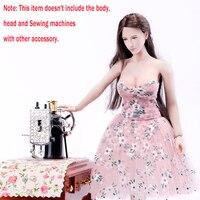 Vimi Studio vs022 1/6 Весы Розовый без бретелек платье юбка цветочный бюстгальтер плиссированные для 12 дюймов Phicen большой бюст фигурку кукла Средств...