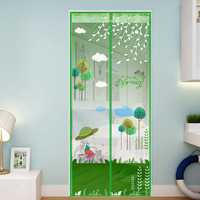 Anti Mosquito Door Screen Curtains Magic Magnetic Tulle Automatic Closing Bedroom Curtains Anti Bug Insect Home
