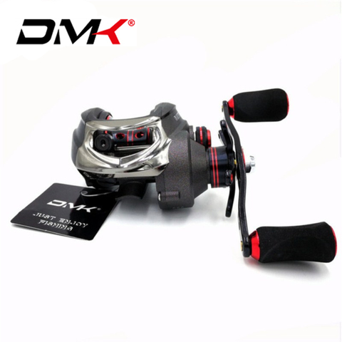 dmk carretel de arremesso 16bb 7 0 1 8 kg 210g sistema de freio duplo