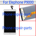 5.5 inch White LCD Display + Touch Screen Digitizer Glass Assembly Replacement For Elephone P9000 LTE Free Shipping