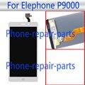 5.5 polegada Branco Display LCD + Touch Screen Substituição Assembleia Glass Digitador Para Elephone P9000 LTE Frete Grátis