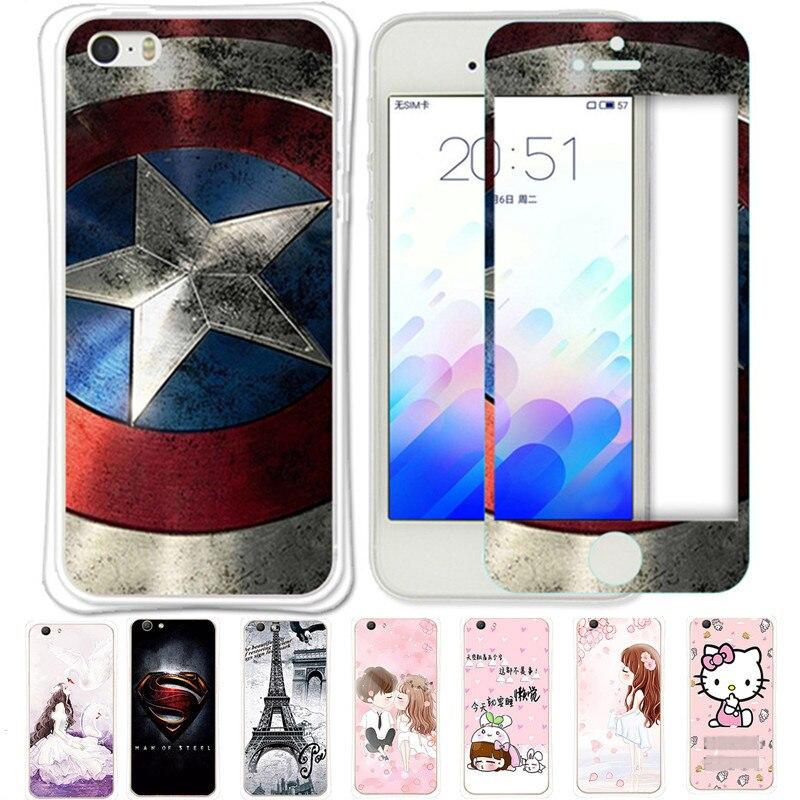 imágenes para 8 unids Caso de la Historieta Para Coque iPhone 5 5S 5 S 6 6 s 6 7 Más de Silicona Suave Cubierta Trasera para el iphone 6 más 7 más 6 s plus Funda Capa