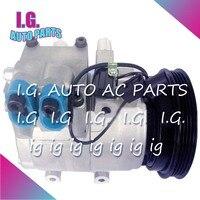Новый HS15 компрессор переменного тока для автомобиля hyundai Elantra 4PK 125 мм для hyundai elantra компрессор