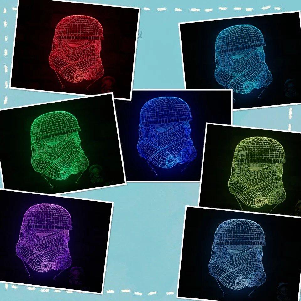 Star Wars Lamp 4