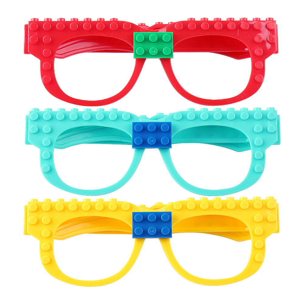 New Building Blocks Of Glasses Baseplate Frame Compatible Legoed - Building and Construction Toys - Photo 2