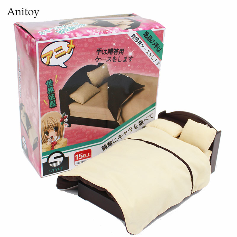 Body Bed Accessory Bedding PVC Figure Collectible Toy 10cm KT4166