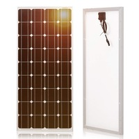 Dokio Brand Solar Panel China 100W Monocrystalline Silicon 18V 1175x535x25MM Size Top quality Solar battery China #DSP 100M