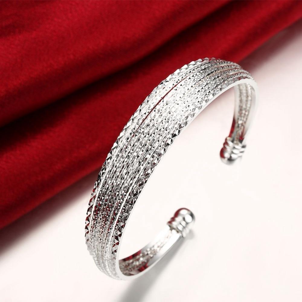 Բնօրինակ 925 արծաթե ձեռնաշղթաներ - Նուրբ զարդեր - Լուսանկար 5
