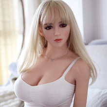 Rifrano 165cm new Elf face real silicone sex dolls, life size japanese love doll, oral vagina pussy sex products for men