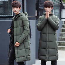 B Men's Clothing Winter Jacket Long Coats with Hood for Leisure High-quality Parka Men Clothes Jacket plus size S-3XL 2018 New rokediss 2017 new winter mens parka clothing men jacket coat with fur hood high quality jackets men plus size vestidos hot sale