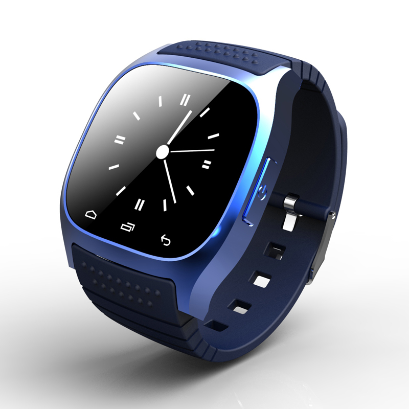 NEW Bluetooth Smart Watch M26 Waterproof Smartwatch With LED Alitmeter Music Player Pedometer For Apple IOS
