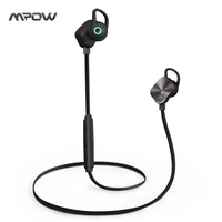 Mpow Wolverine Bluetooth 4 1 Wireless Sports Headphones In Ear Running Stereo Earbuds Headsets With Mic