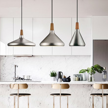 Nordic Retro Pendant Lights Modern Led Lamps Copper Hanglamp Aluminum Luminaria for Living Room Kitchen Light Fixtures