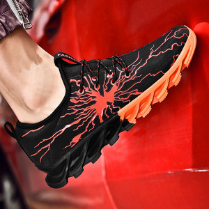 Image 3 - Classic mens casual shoes lightning couple tie sports shoes unisex lightweight adult fashion trend low price