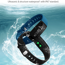 Совместим с Samsung IPhone смартфон фитнес Bluetooth Спорт V07 умный Браслет BP монитор и hr трекер группа в наличии