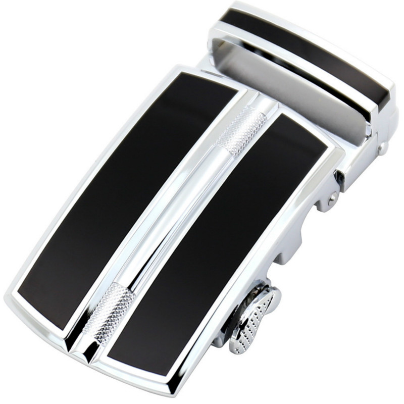 New Genuine Men's Belt Head, Belt Buckle, Leisure Belt Head Business Accessories Automatic Buckle Width 3.5CM LY155-0258-5