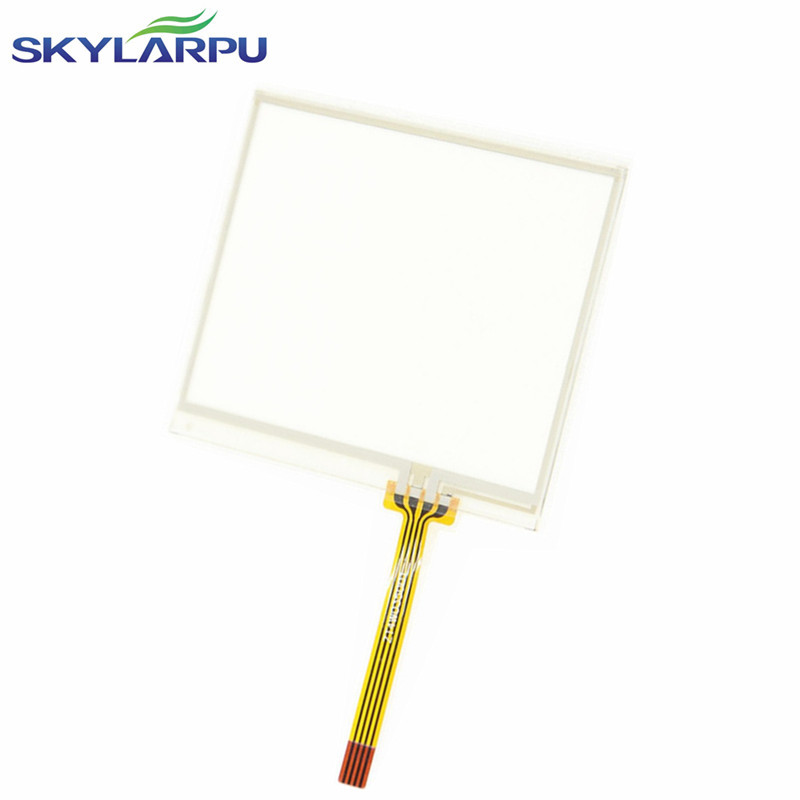 skylarpu New 3 5 4 Wire Resistive Touch for MP4 MP5 TP GPS Replacement 77 64mm