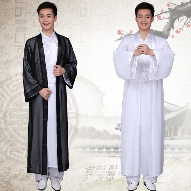 Hombres Traje Masculino Hanfu Chino Tradicional Ropa de Adultos Traje Folklórico Chino Chino Antiguo Traje Ropa 18