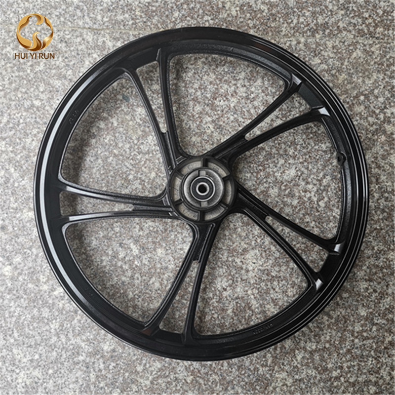 Motorbike Parts Front Rim Wheel for Yamaha PY50 PW50 Black