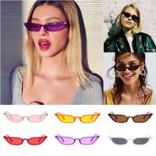Designer Women Cat Eye Sunglasses Small Vintage Eyewear Glasses Shades UV400 Pop