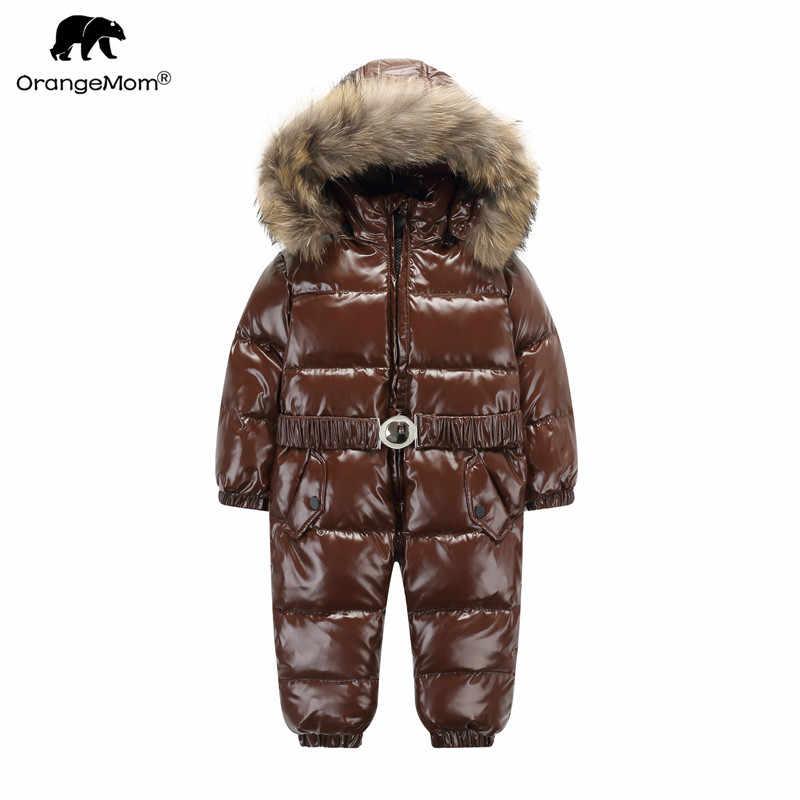 Orangemom Официальный магазин, пальто для маленьких мальчиков, зимняя одежда,  теплый зимний комбинезон e4de994b4d3