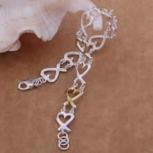 fine special star Wholesale silver plating bracelet, Silver plated fashion jewelry /YEEFZLHG HBDERNAT