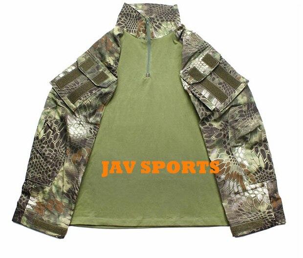 TMC G3 Army Military Combat Shirt Kryptek Mandrake Camouflage Tactical Combat Shirt+Free shipping(SKU12050220) tmc field shirt