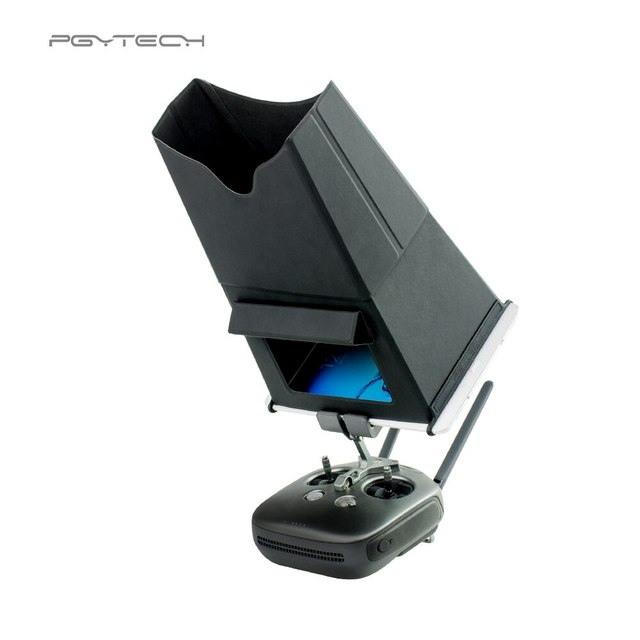 PGYTECH ล้อมรอบบังแดด 7.9 9.7 นิ้วรีโมทคอนโทรลสำหรับแท็บเล็ต DJI Mavic MINI 2 Pro Monitor Hood Drone อุปกรณ์เสริม