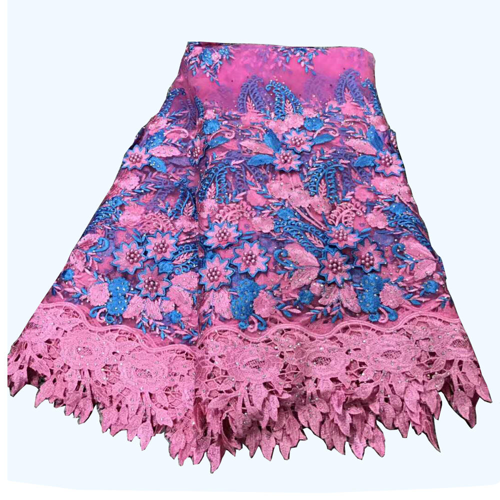 2018 High Quality Purple 3d Lace Fabric With Beads 5yards New African Lace Fabric 3d Flower Fabric For Dress HJ396-2 2018 High Quality Purple 3d Lace Fabric With Beads 5yards New African Lace Fabric 3d Flower Fabric For Dress HJ396-2