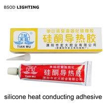 Tianmu cola 705 silicone claro vedação cola e tm silicone condução de calor cola cinza ou branco cura silicone e graxa calor