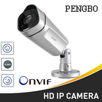 Newest PENGBO IP Camera PoE 2MP 4MP HD Outdoor Waterproof Camera Infrared Night Vision