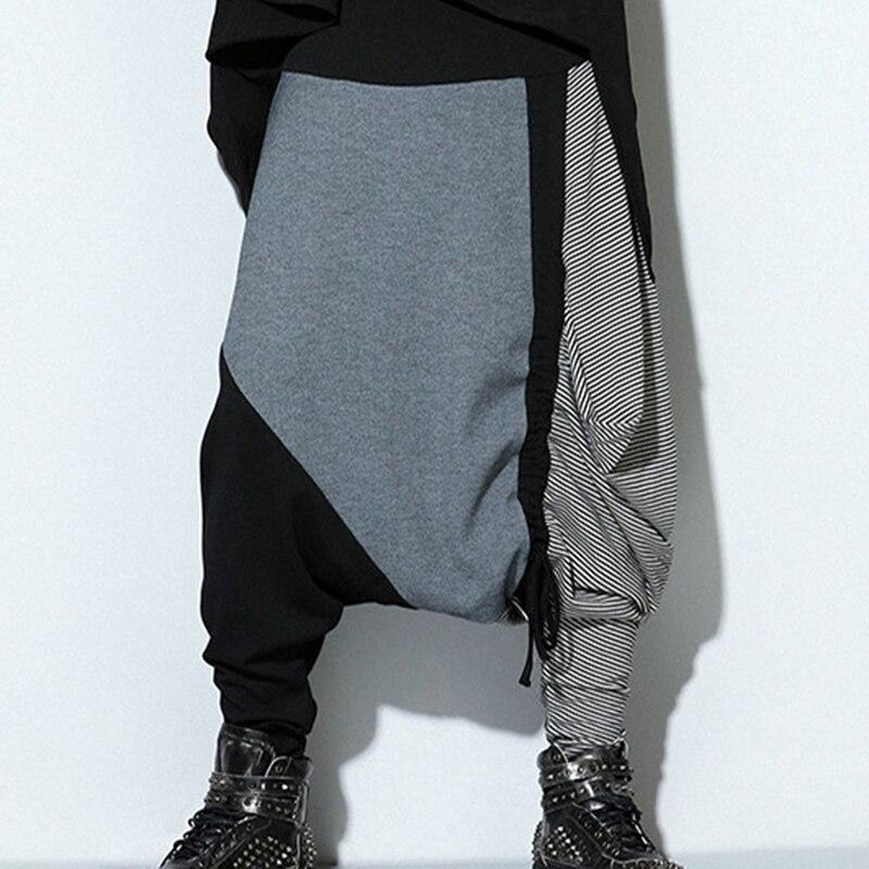 Nouveau hommes épissage de rue hipsters hip hop pantalon