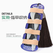 цена на Guzheng Accessories with Tassel Guzheng Nail Storage Board Pipa Nail Tape Wrapped Card