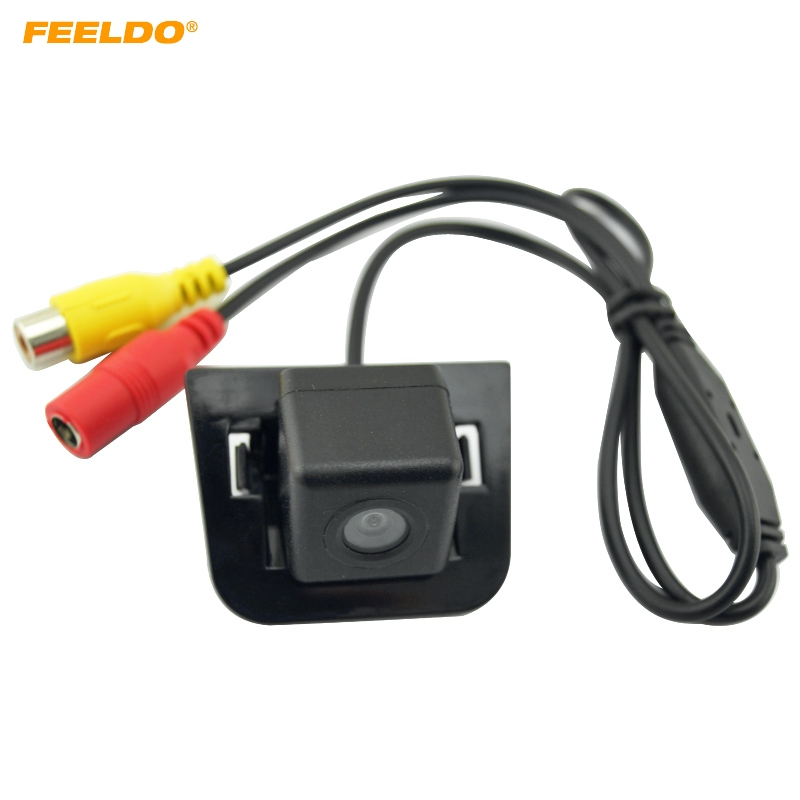 FEELDO 1PC Special Rear View Backup Car font b Camera b font For Toyota Prius 09