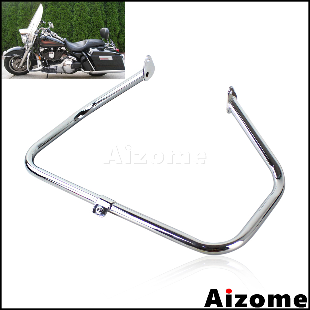 Engine Guard For Harley Road King FLHR Crash Bar Ultra Classic Electric Glide FLHTK Street Glide FLHTCU FLHX FLHXS FLHT 97-2008Engine Guard For Harley Road King FLHR Crash Bar Ultra Classic Electric Glide FLHTK Street Glide FLHTCU FLHX FLHXS FLHT 97-2008