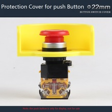 22mm Protection Cover for Push Button Switch for Avoiding Wrong Pressing Protective Cover Warning Cover for Push Button Switch