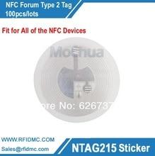 Amiibo tag for TagMo Ntag215 lable, Ntag215 sticker NFC Forum type2 tag,NFC sticker 100pcs